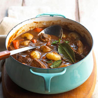 Mustard-Herb Beef Stew