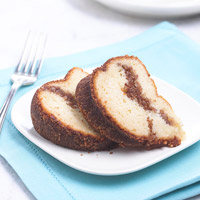 Image of Amaretto Cake With Cinnamon Swirl, Better Homes and Garden