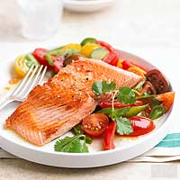 Skillet-Seared Salmon