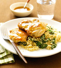 Apple Chicken & Couscous