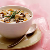 Image of Antlers Wild Rice Soup, Midwest Living