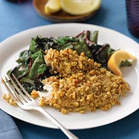Walnut-Crusted Tilapia
