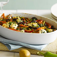 Mediterranean Fish Casserole