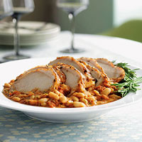 Pork Sirloin and Beans