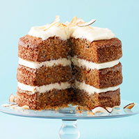 Ginger-Coconut Carrot Cake