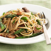 Image of Asparagus-mushroom Primavera, Better Homes and Garden