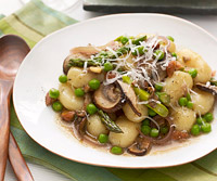 Wild Mushroom and Vegetable Gnocchi