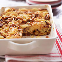 Apple-Almond Cinnamon Strata