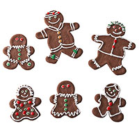 Chocolate Gingerbread People