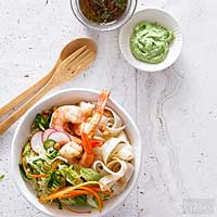 Shrimp and Noodles