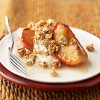 Apples and Granola Breakfast Crisp