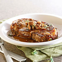 Maple-Thyme Pork Chops