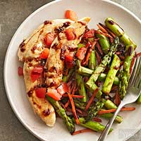 Balsamic Chicken and Vegetables