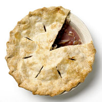 Grape & Pear Pie