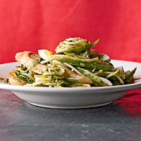 Image of Spaghetti With Fresh Pesto, Better Homes and Garden