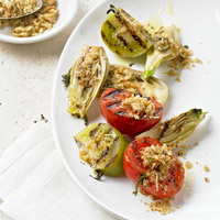 Grilled Fennel and Tomatoes