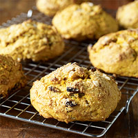 Pumpkin-Raisin Scones