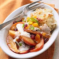 Chutney-Style Apple Cobbler