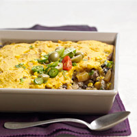 Pumpkin Black Bean Bake
