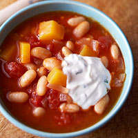 White Bean and Cumin Chili