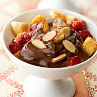 Cherry-Almond Chocolate Desserts