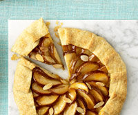 Pear Frangipane Crostada