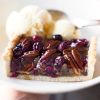 Pecan Cranberry Tart