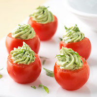 Image of Avocado Pesto-stuffed Tomatoes, Better Homes and Garden