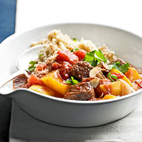 Image of Aromatic Beef Stew With Butternut Squash, Better Homes and Garden