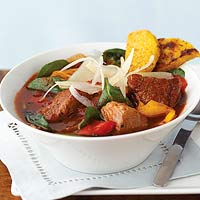 Pork Stew with Polenta