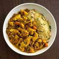 Stewed Moroccan Chicken