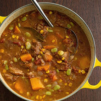 Pork and Butternut Squash Stew