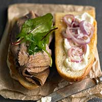 Salt-Crusted Roast Beef for Sandwiches