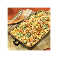 Chicken Pasta & Vegetable Casserole
