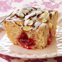 Moist Fruit-Filled Coffee Cake