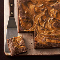 Caramel-Swirl Brownies