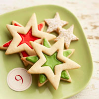 Browned-Butter Sandwich Stars