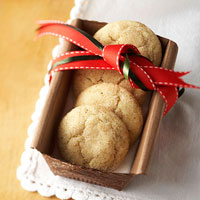 Browned Butter-Cardamom Sugar Cookies