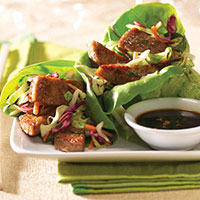 Image of Asian-style Lettuce Wraps, Better Homes and Garden