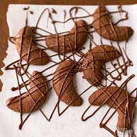 Image of Almond-hazelnut-chocolate Crescents, Better Homes and Garden