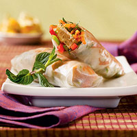 Image of Asian Veggie Patties Spring Rolls, Better Homes and Garden