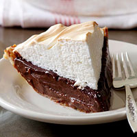 Classic Chocolate Meringue Pie