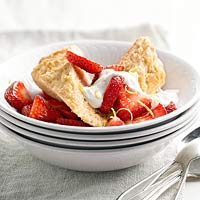 Good and Healthy Strawberry Shortcake