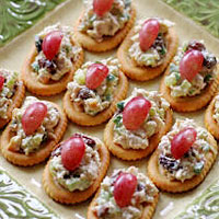 Image of Almond Chicken Salad On Town House Toppers, Better Homes and Garden
