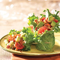 Image of Avocado Salad In Lettuce Wraps, Better Homes and Garden
