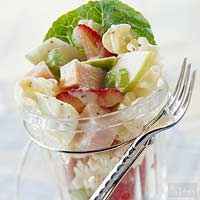 Turkey & Fruit Pasta Salad