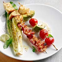Grilled BLT Skewers