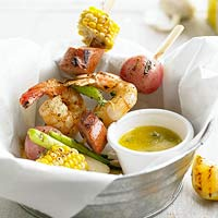 Shrimp Boil on a Stick