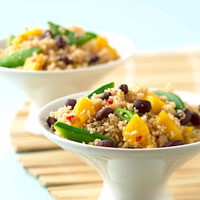Snappy Asian Couscous