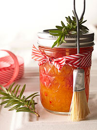 Holiday Peppery Peach Sauce